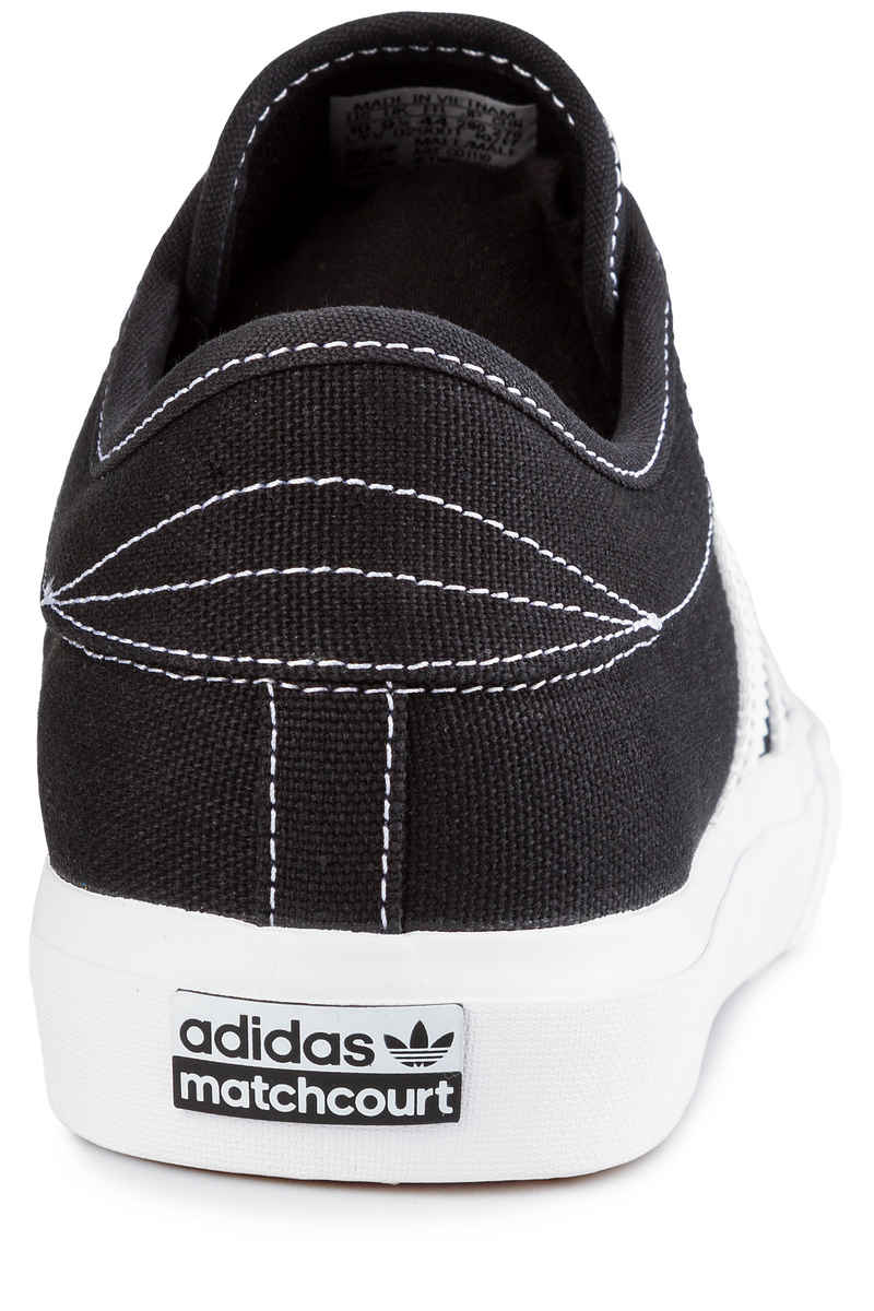 adidas Skateboarding Matchcourt Shoes (core black white gold)