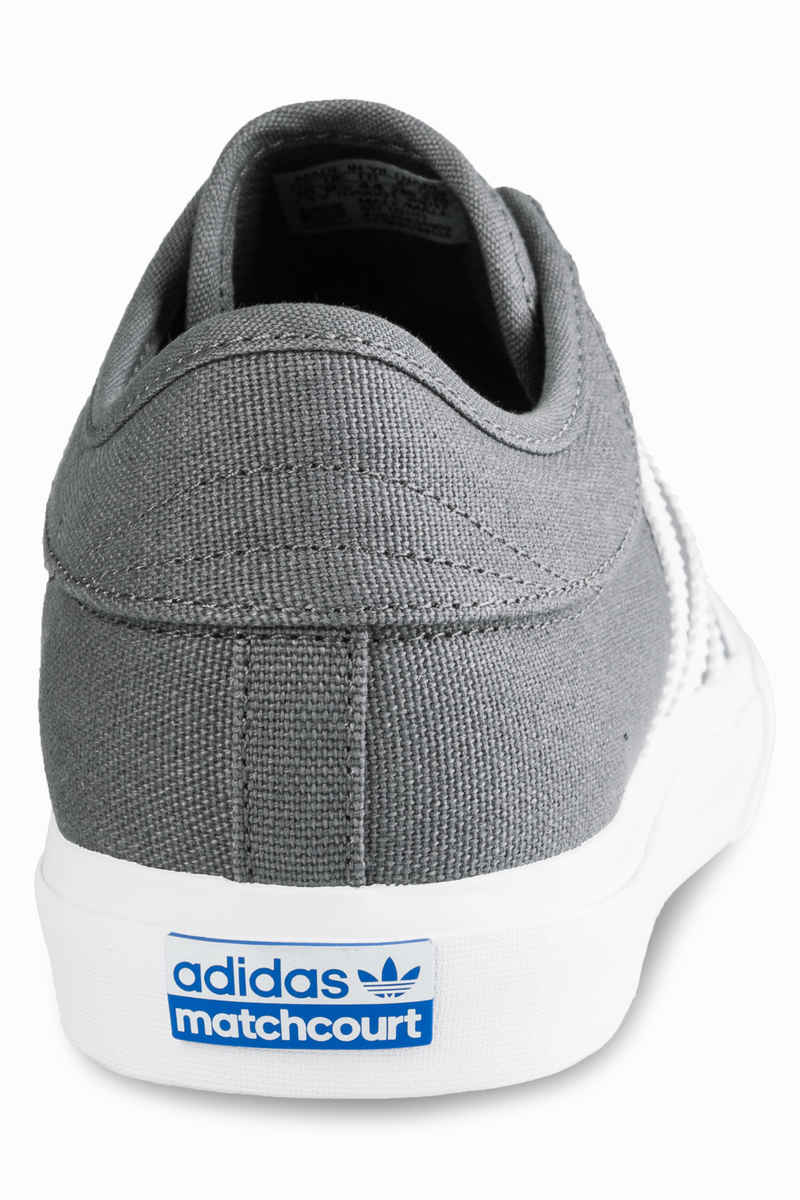 adidas Skateboarding Matchcourt Shoes (grey four white gum)