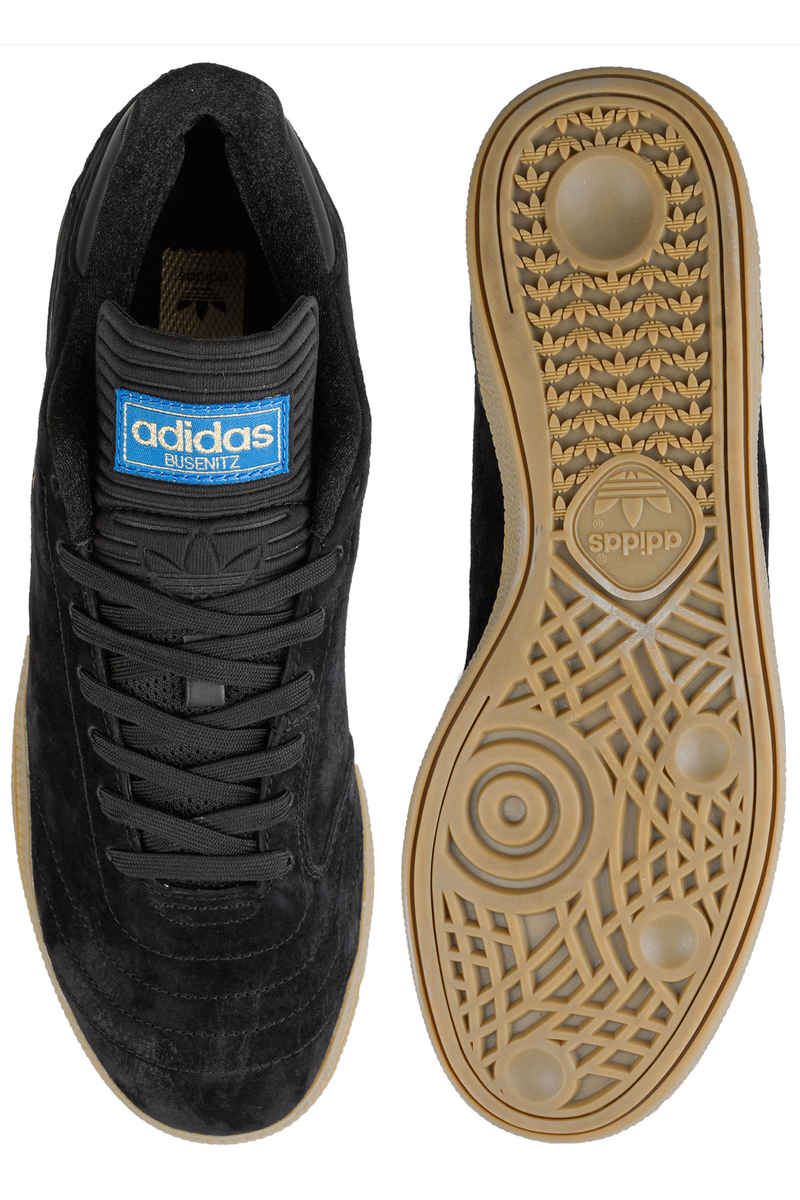 adidas Skateboarding Busenitz RX Shoes (core black gum gold)