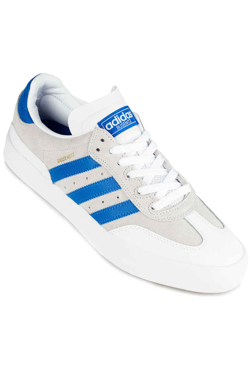 adidas Skateboarding Busenitz Vulc RX Shoes (white bluebird white)