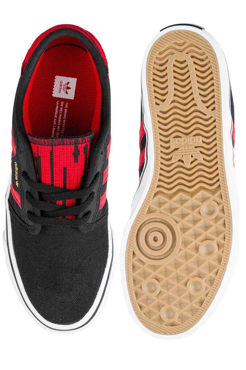 adidas Skateboarding Seeley Shoes kids (core black scarlet white)
