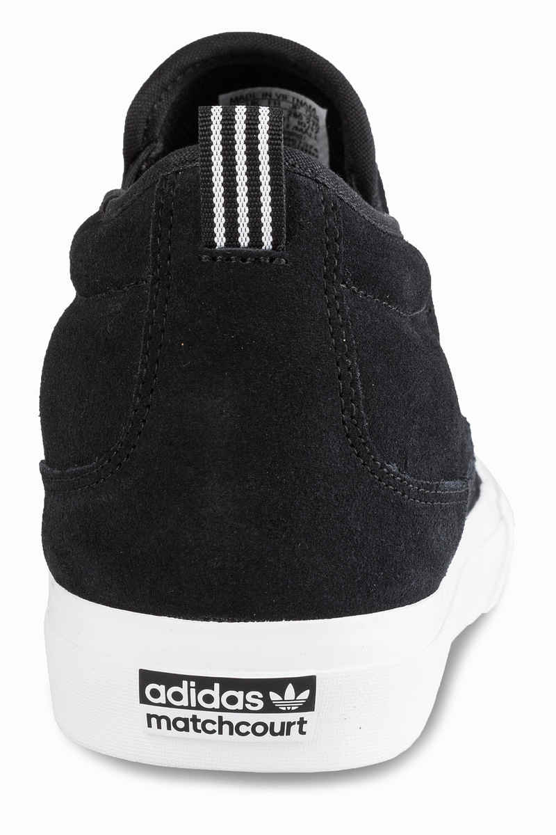 adidas Skateboarding Matchcourt Mid Slip Shoes (core black white gum)