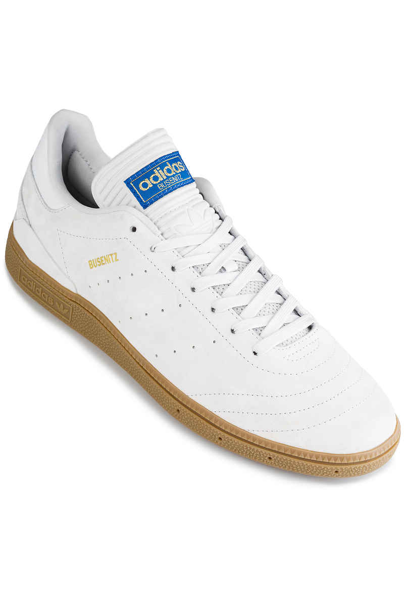 adidas Skateboarding Busenitz RX Shoes (white gum gold)