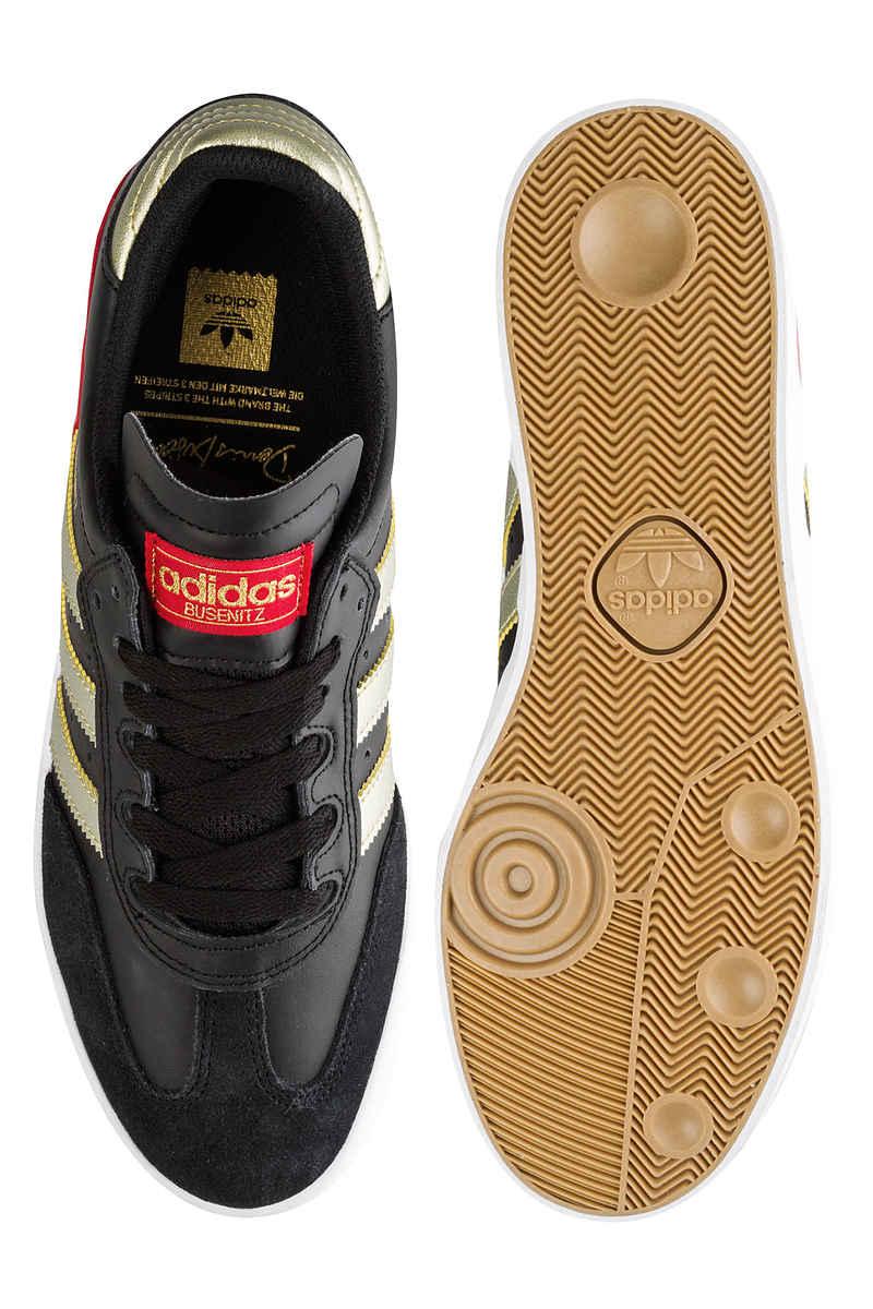 adidas Skateboarding Busenitz Vulc RX Shoes (core black gold scarlet)