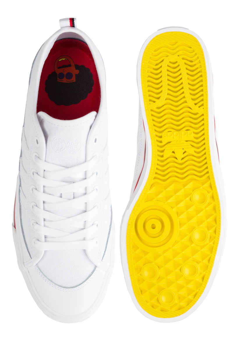 adidas Skateboarding x Na-Kel Matchcourt RX Shoes (white core black scarlet)
