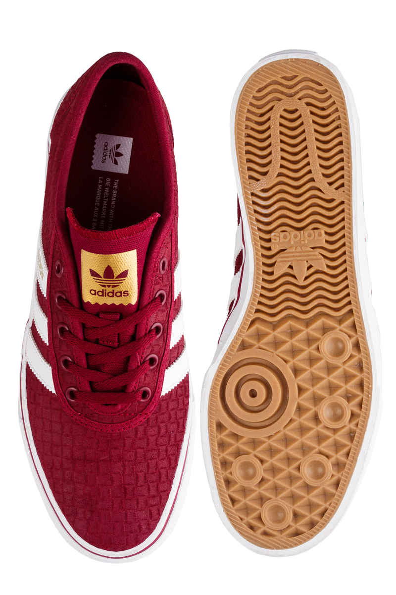 adidas Skateboarding Adi Ease Shoes (core burgundy white gold)