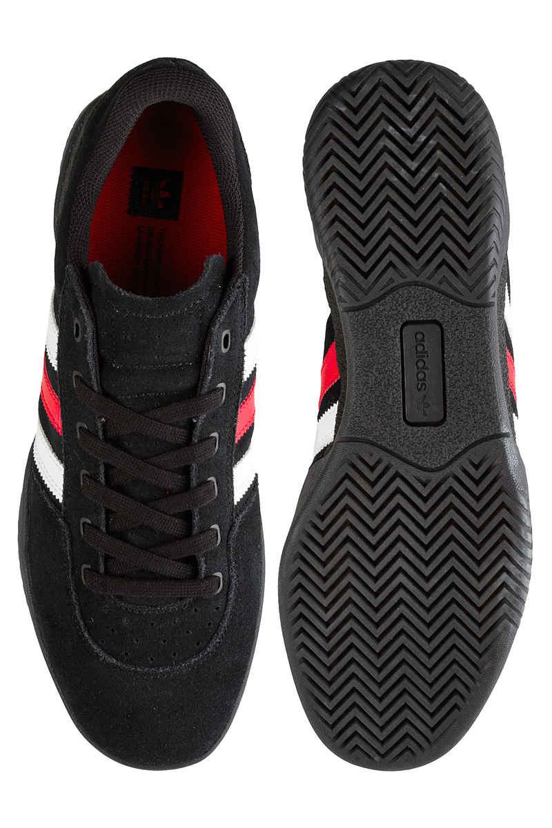 adidas Skateboarding City Cup Shoes (core black scarlet white)