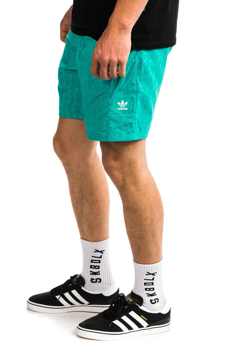 adidas Resort Shorts (shock green)