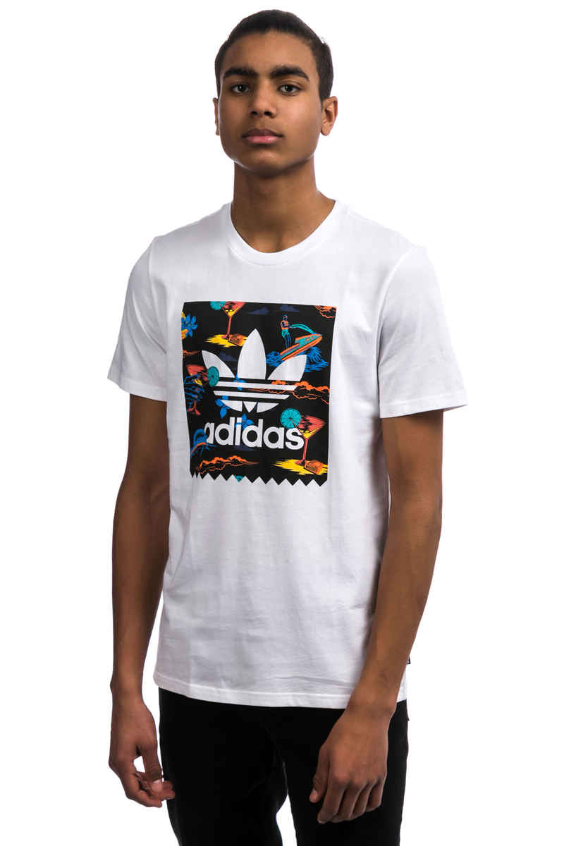 adidas BB Resort Camiseta (white)