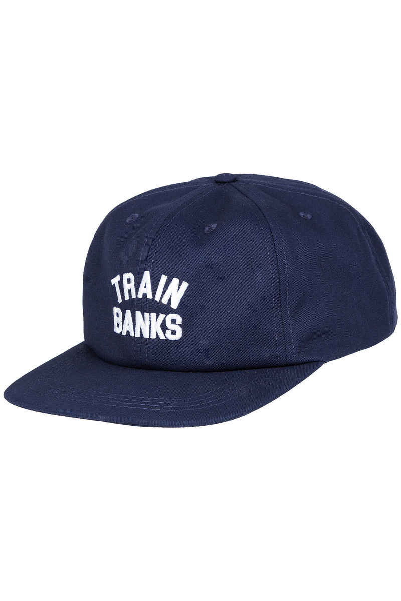 Polar Skateboards Train Banks 6 Panel Unstructured Cap (navy)