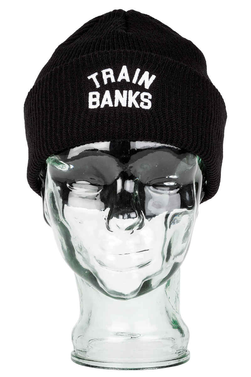 Polar Skateboards Train Banks Mütze (black)