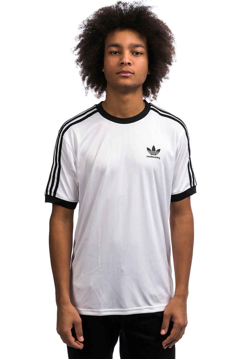 adidas Clima Club Jersey T-Shirt (white black)
