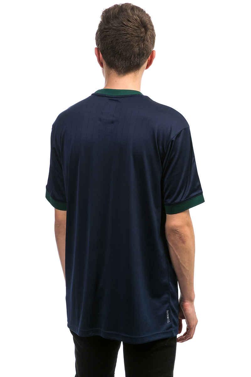 adidas Clima Club Jersey T-Shirt (indigo green white)