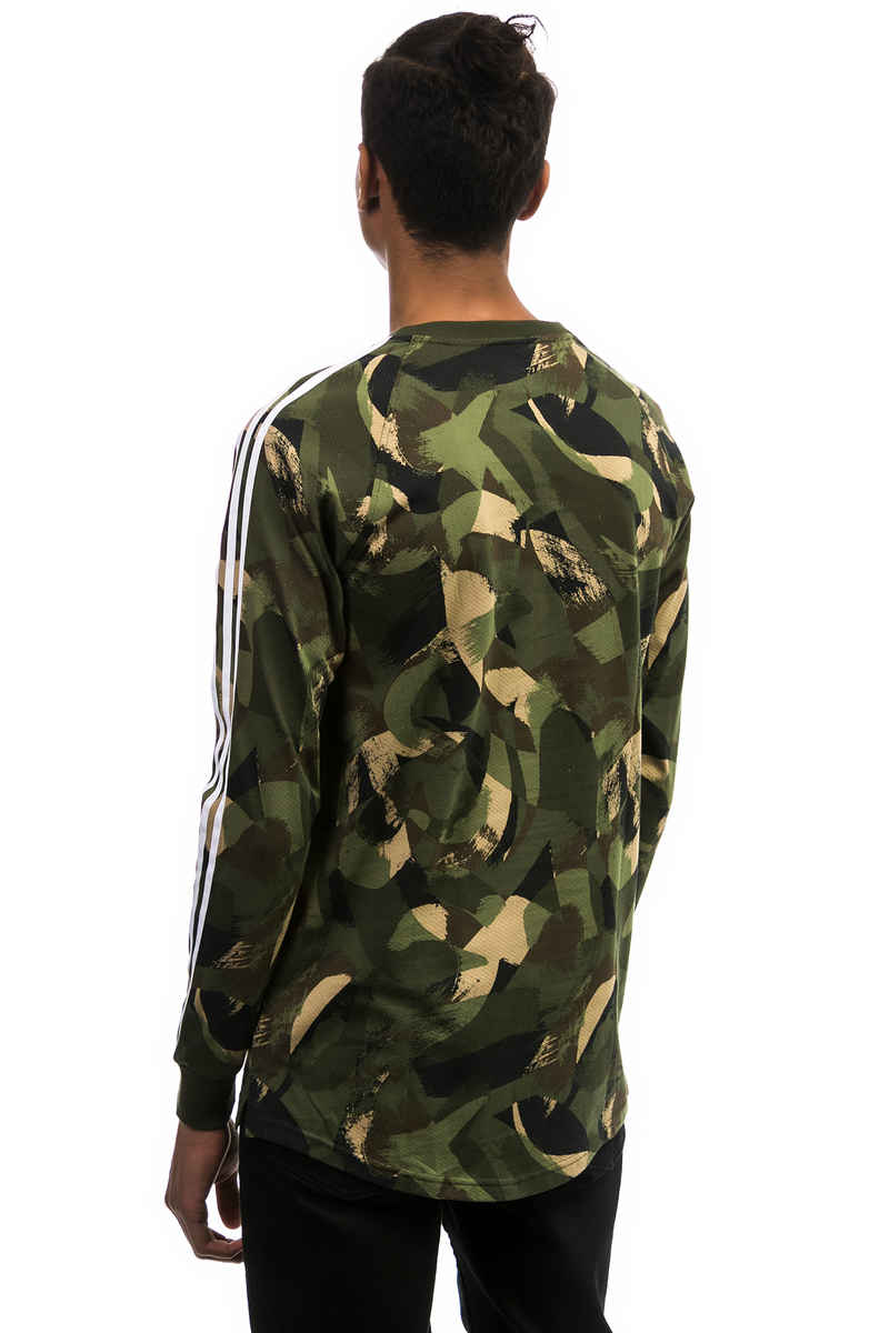adidas CA Camo Camiseta de manga larga (campri)