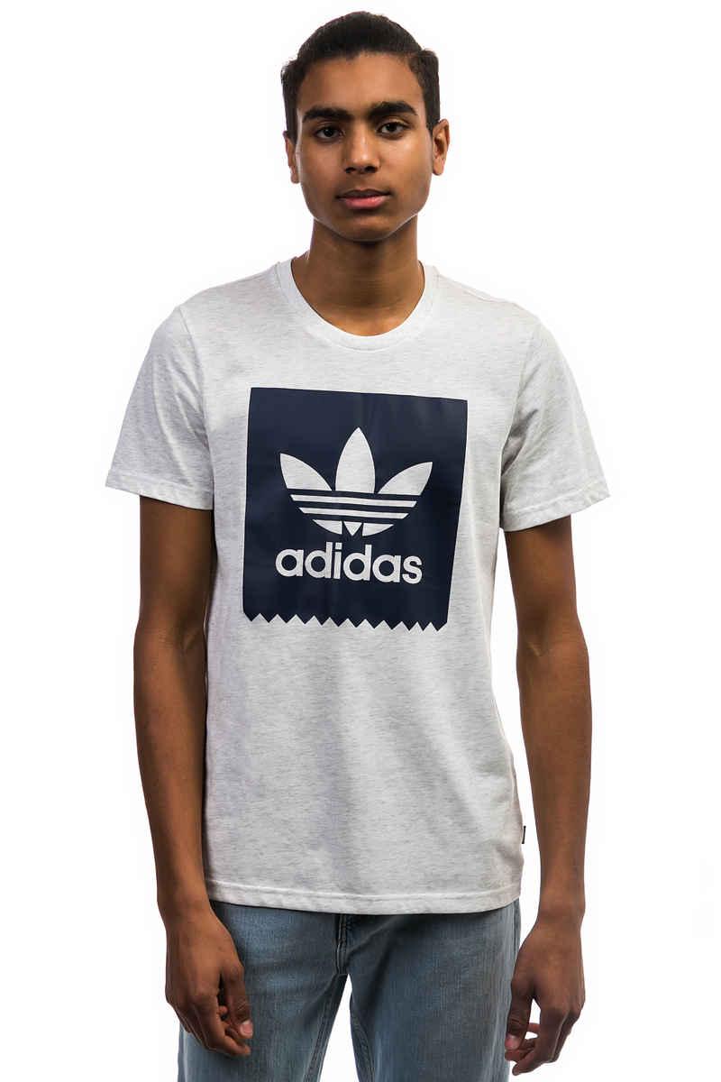 adidas Solid Blackbird T-Shirt (pale melange night indigo)