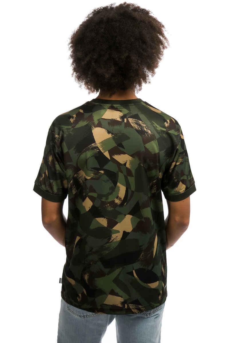 adidas Clima Club Bushed Camo Jersey T-Shirt (camo)