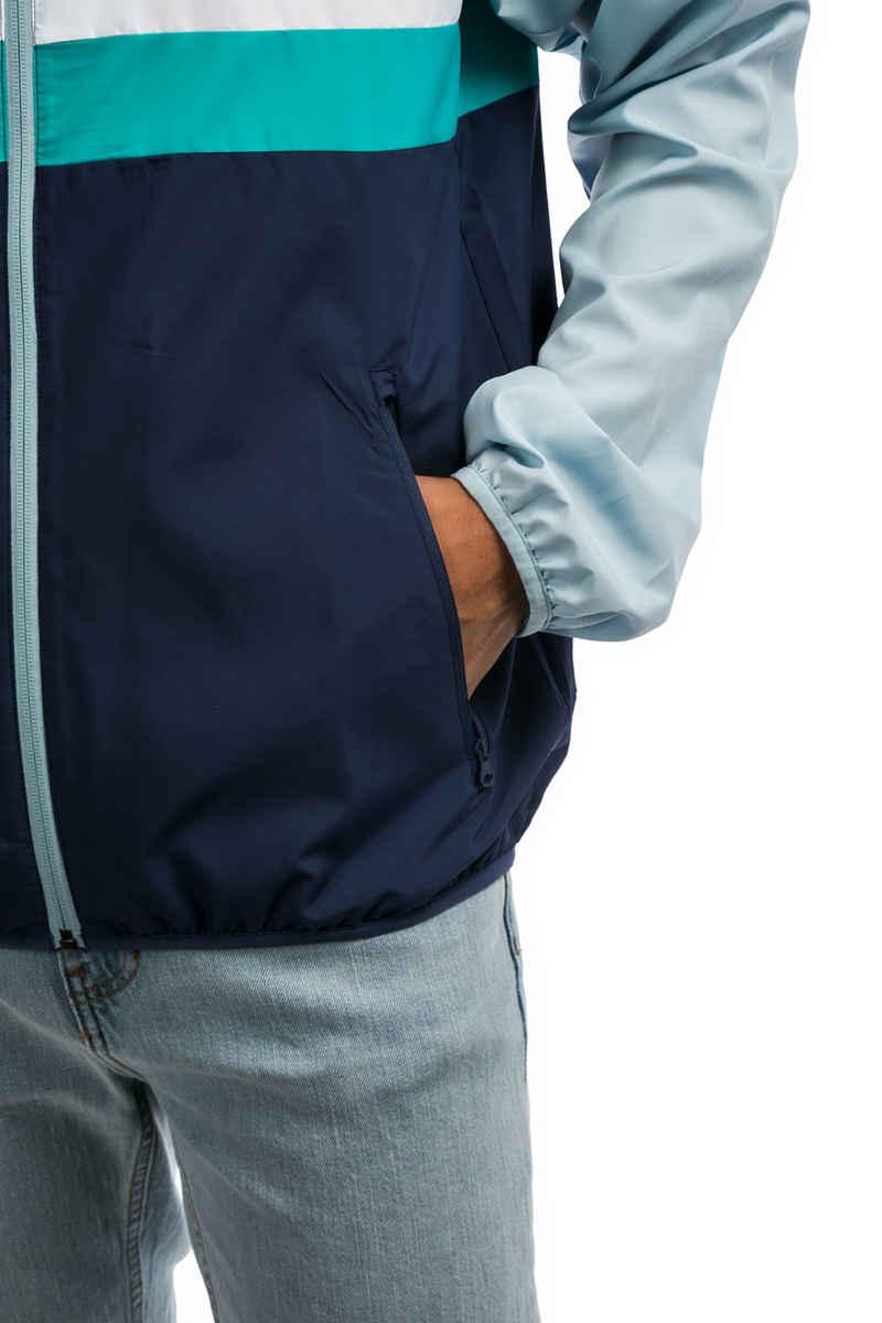 adidas Blackbird Wind Jacket Packable (ash grey shock green)