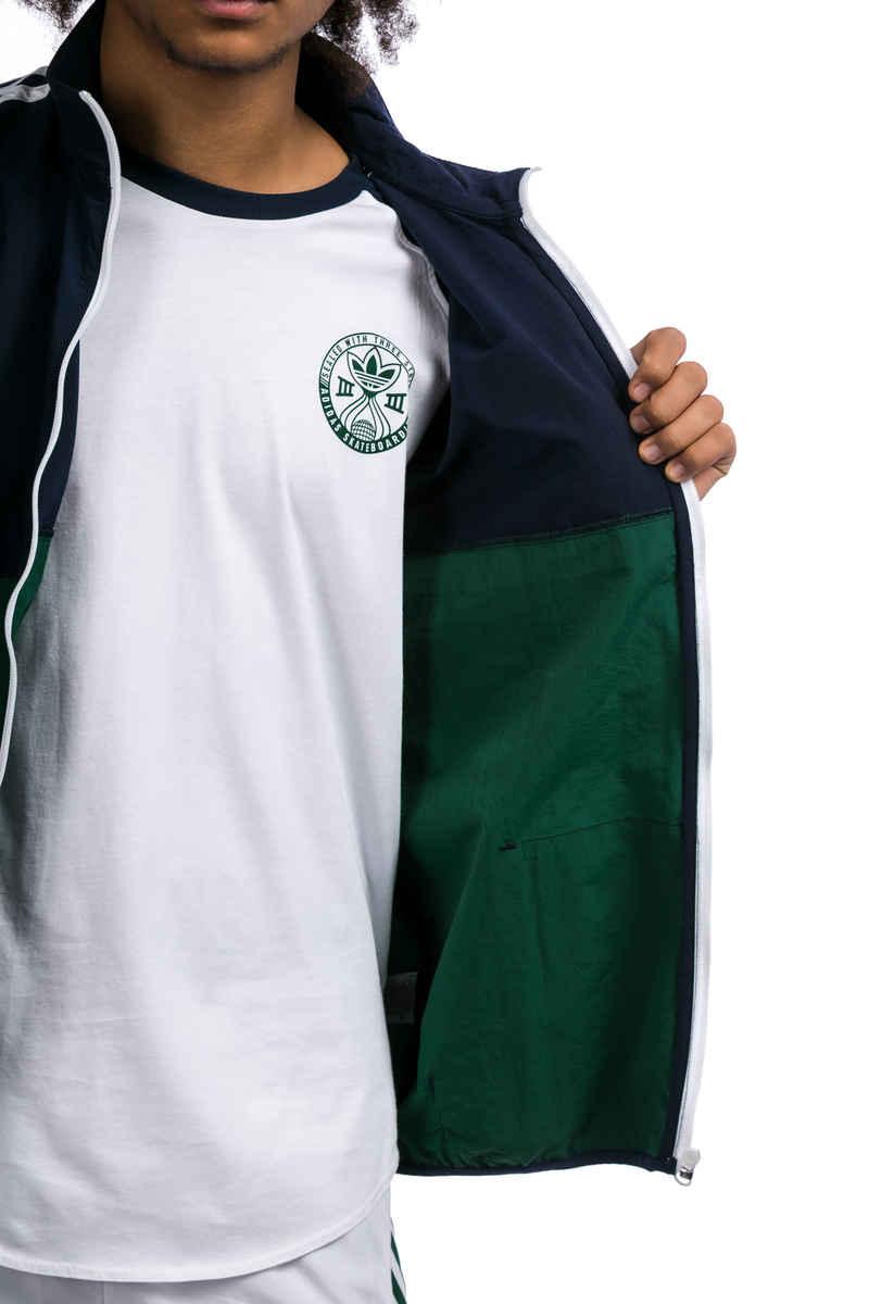 adidas Classic Chaqueta  (indigo green white)