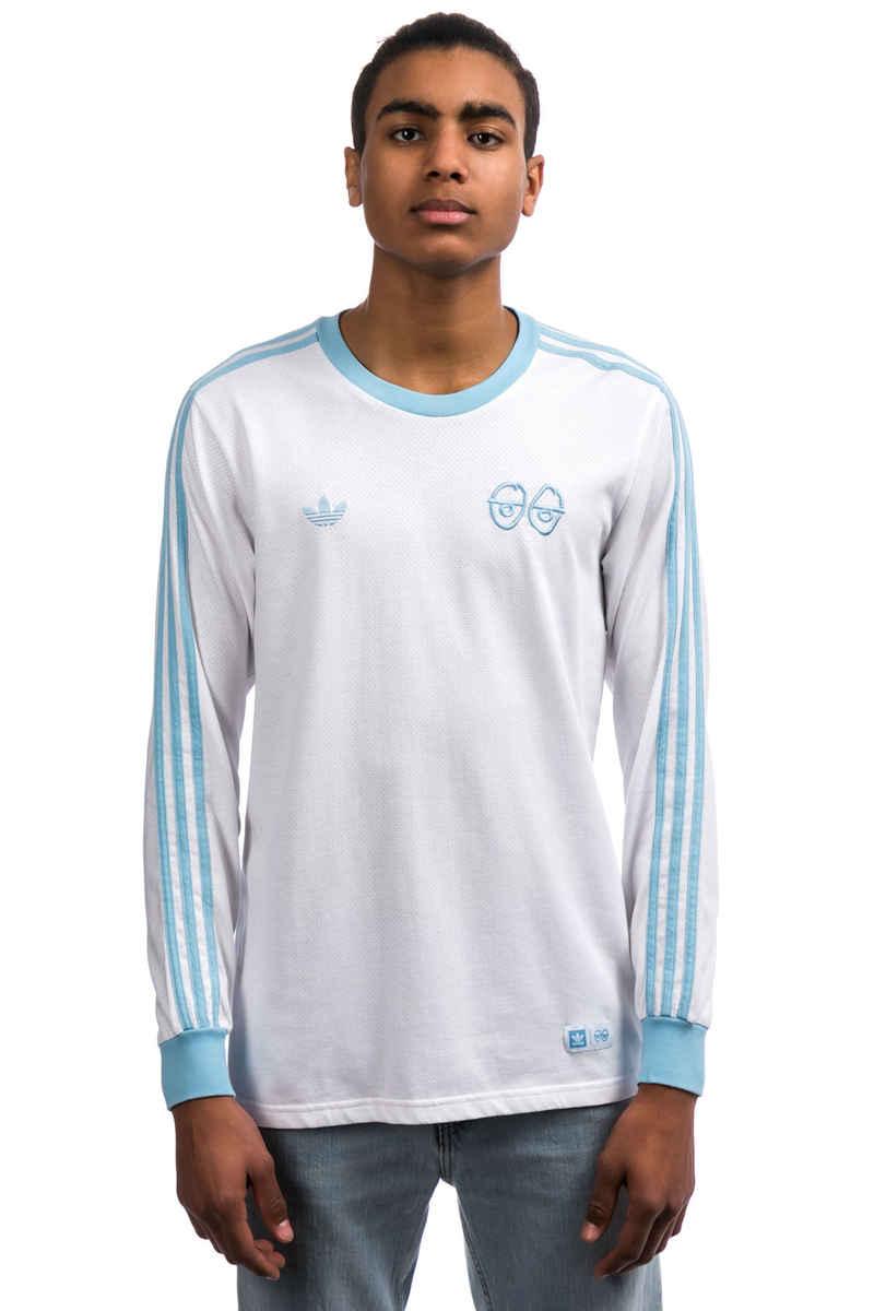 Achetez Manches Longues Adidas Blue X Krooked white Sur Clear z40aZw