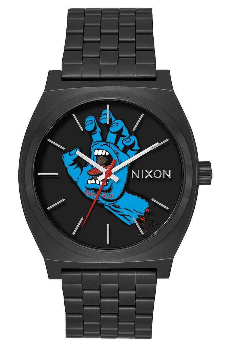 Nixon x Santa Cruz The Time Teller Watch (screaming hand black)