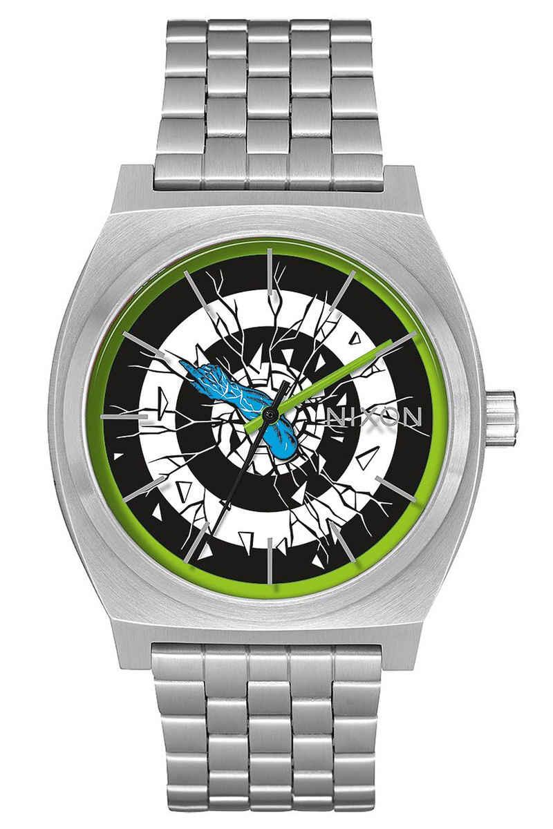 Nixon x Santa Cruz The Time Teller Watch (roskopp silver)
