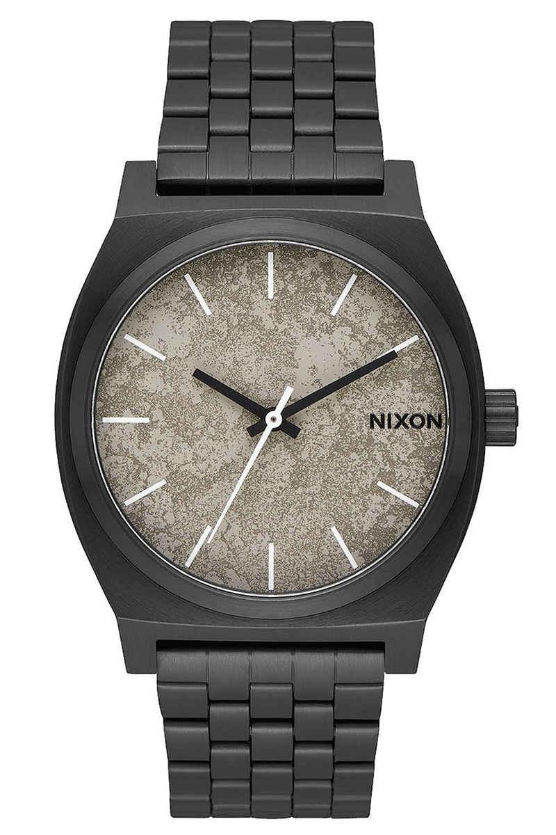 Nixon The Time Teller Watch (black concrete)