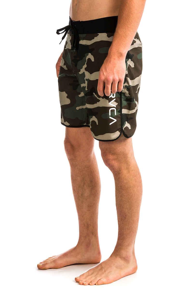 RVCA Eastern Trunk Boardshorts (dark khaki)