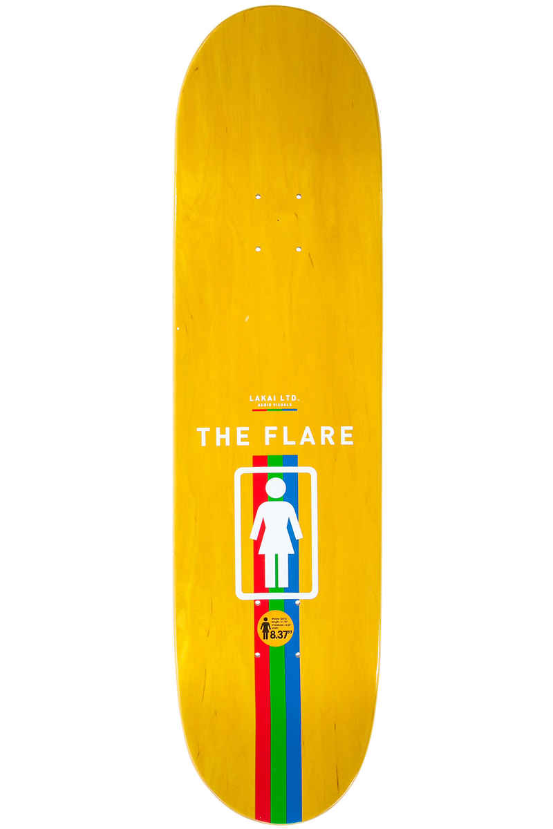 "Girl x Lakai Carroll The Flare 8.375"" Deck (multi)"