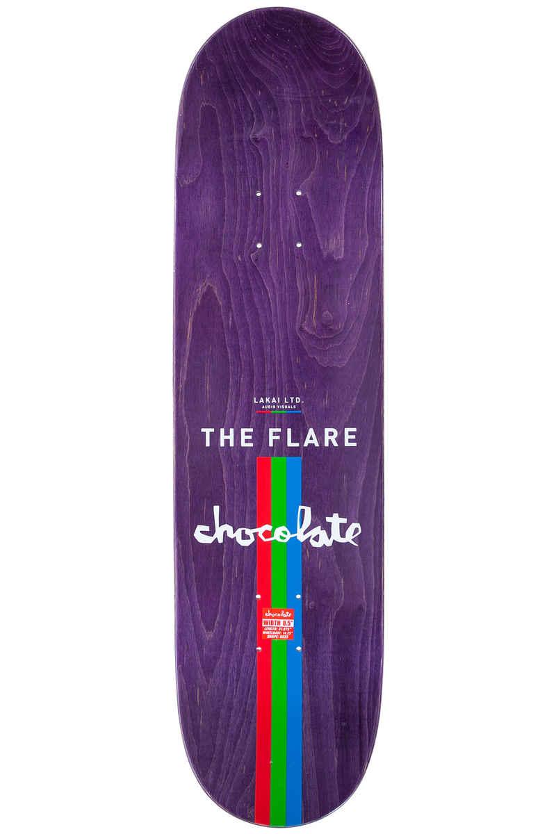 "Chocolate x Lakai Tershy The Flare 8.5"" Deck (multi)"