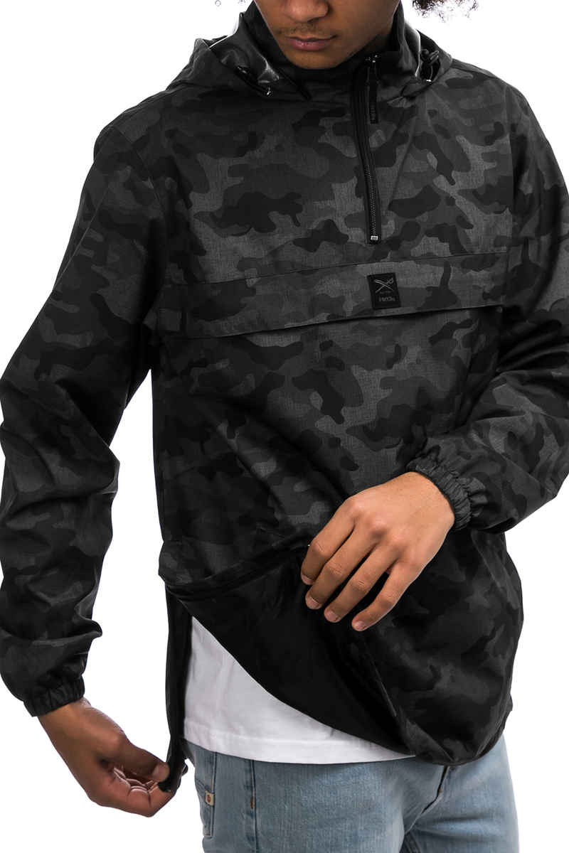 Iriedaily Gridstop Jacke (camo black)