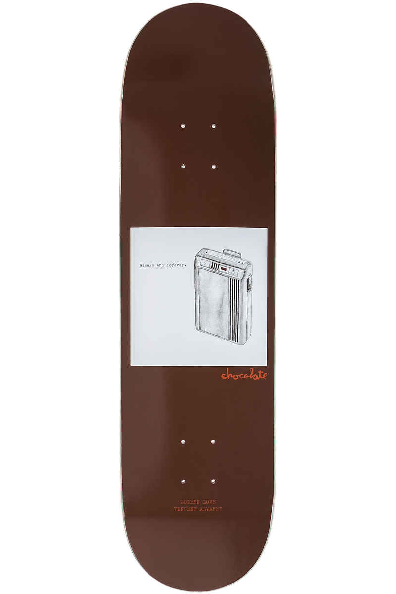 "Chocolate Alvarez Modern Love 8.25"" Deck (brown)"