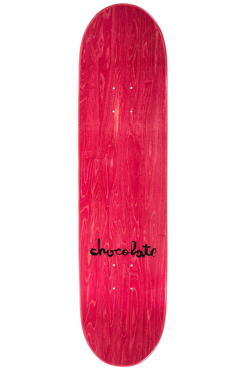 "Chocolate Roberts Modern Love 8.125"" Planche Skate  (red)"