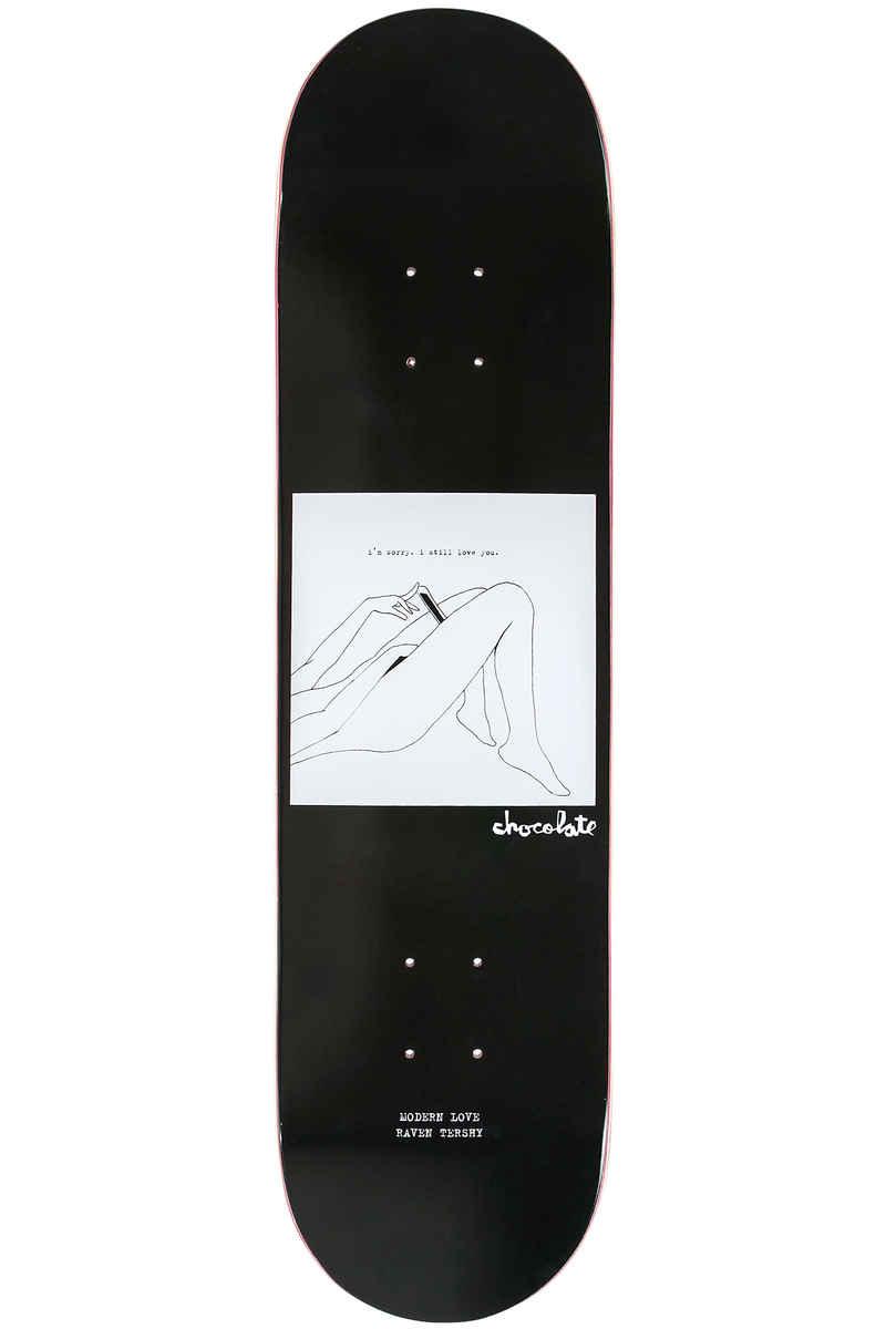 """Chocolate Tershy Modern Love 8.25"""" Deck (black)"""