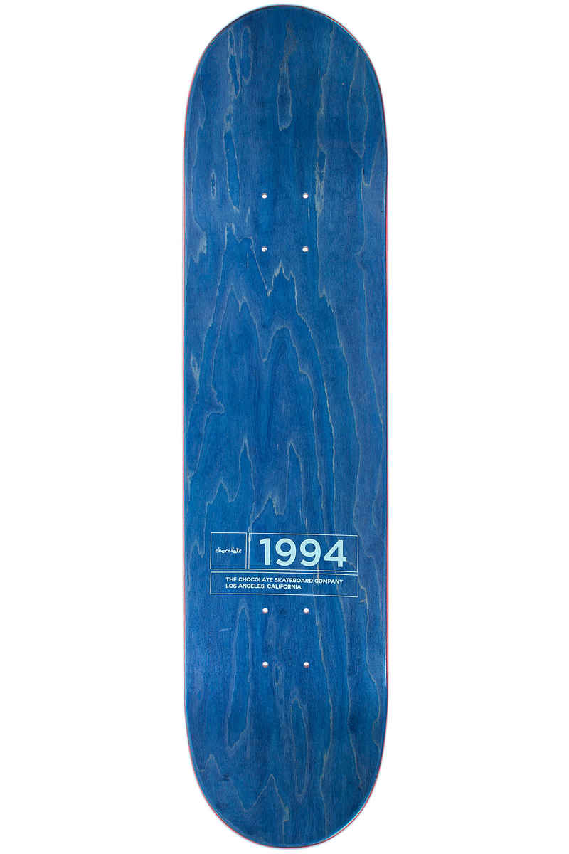 "Chocolate Alvarez Inaugural 8"" Planche Skate (blue)"