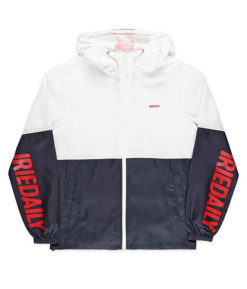 Iriedaily New Momentum Jacke Packable (navy red)