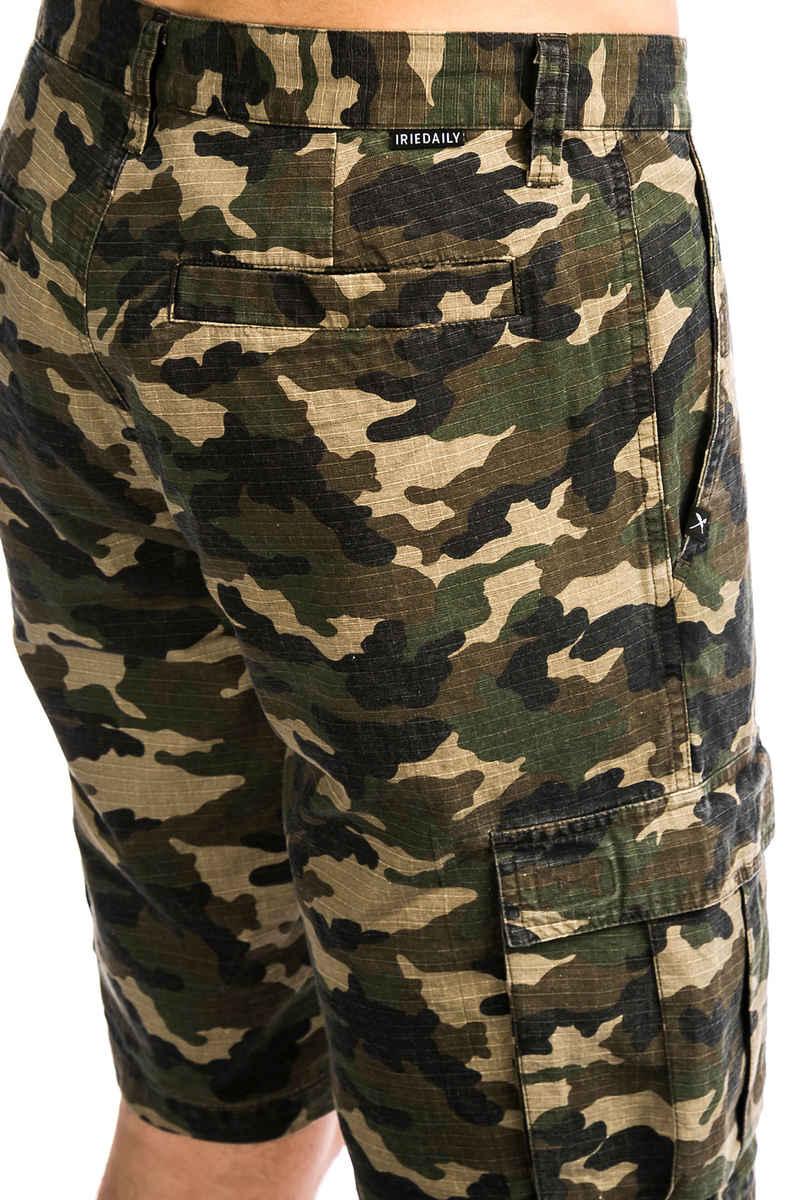 Iriedaily Ribcargo Shorts (camou olive)
