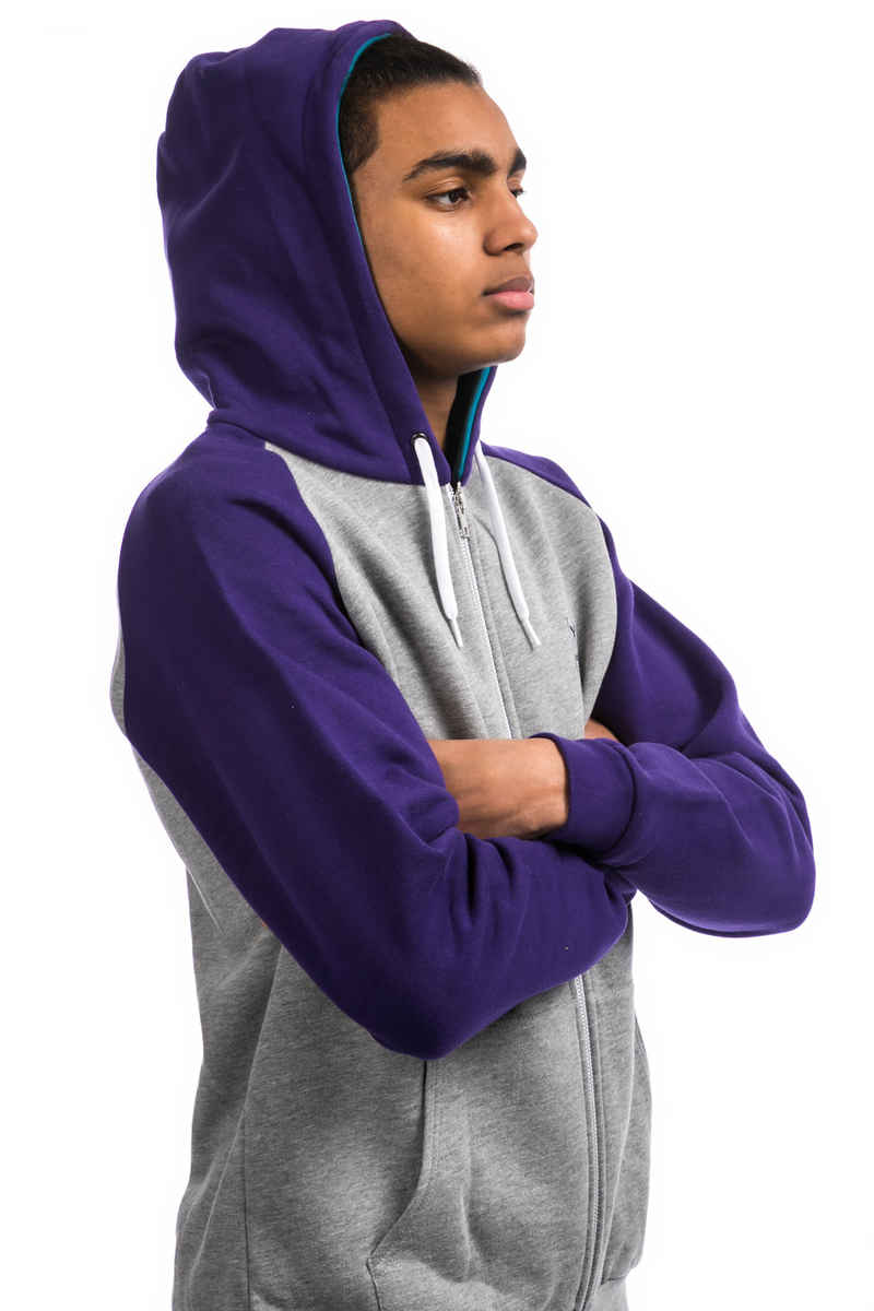 Iriedaily De College Sudadera con cremallera (dark purple)