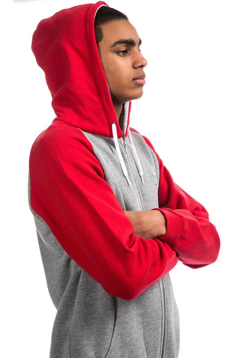 Iriedaily De College Zip-Hoodie (red melange)
