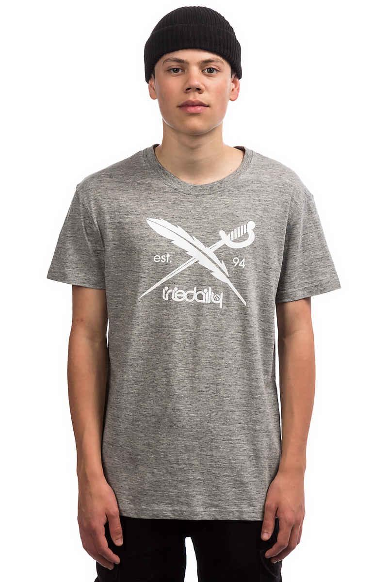 Iriedaily Chamisso Logo T-Shirt (grey melange)