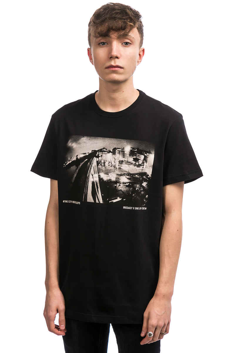 Iriedaily x 1UP The City T-Shirt (black)