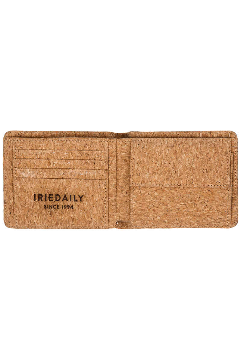 Iriedaily Cork Flag Portemonnee (light brown)