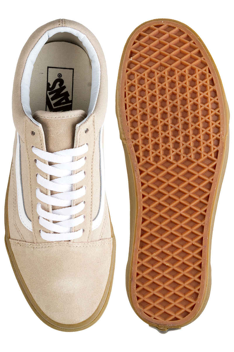 Vans Old Skool Shoes (sesame gum)