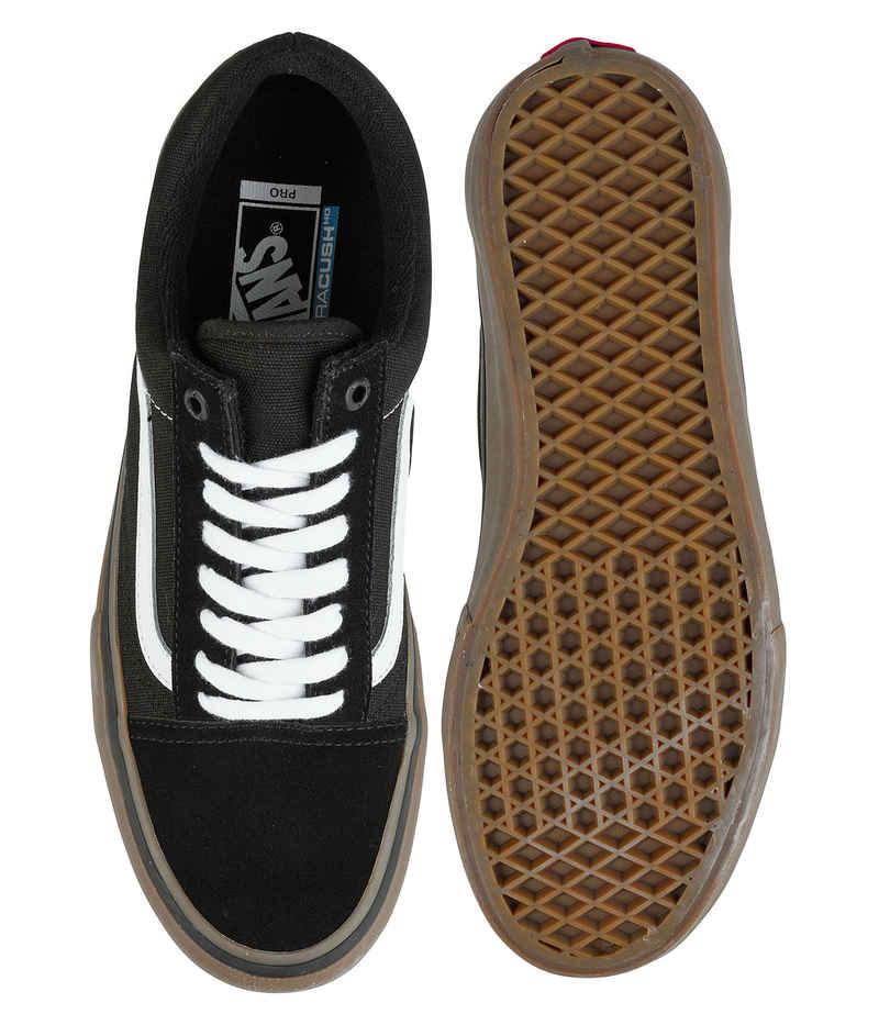 Vans Old Skool Pro Shoes (black white gum)