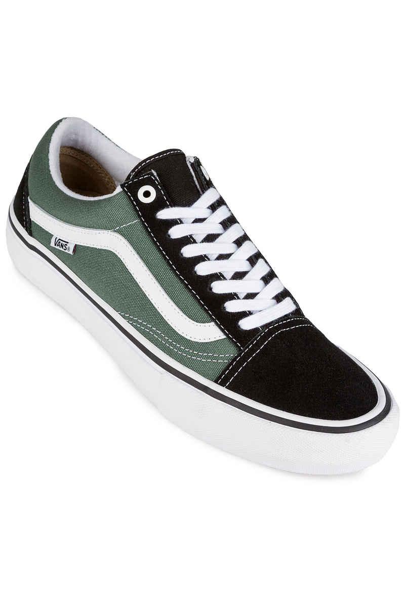 Vans Old Skool Pro Shoes (black duck green) buy at skatedeluxe e3d3e5229