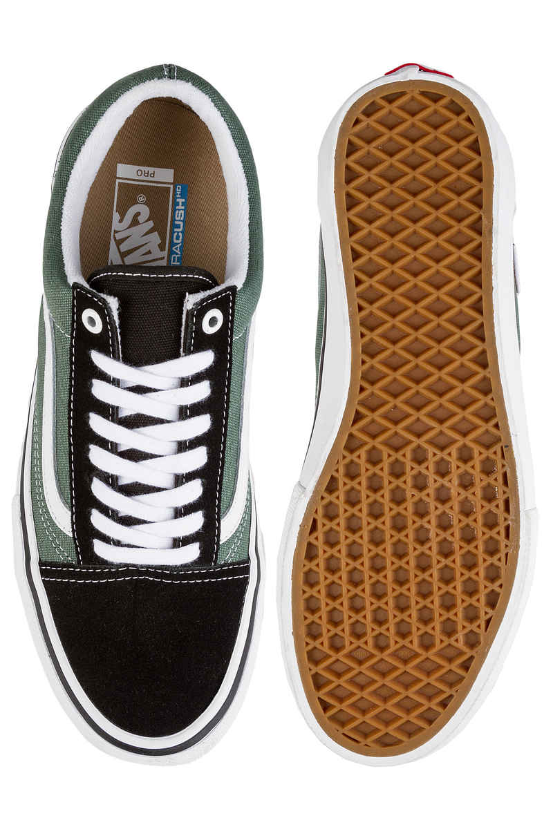 Vans Old Skool Pro Shoes (black duck green)