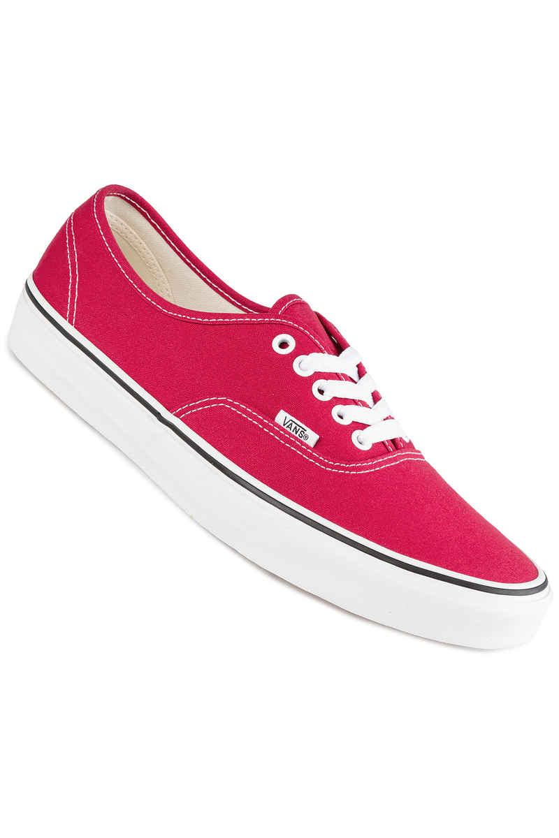 Vans Authentic Zapatilla (crimson true white)