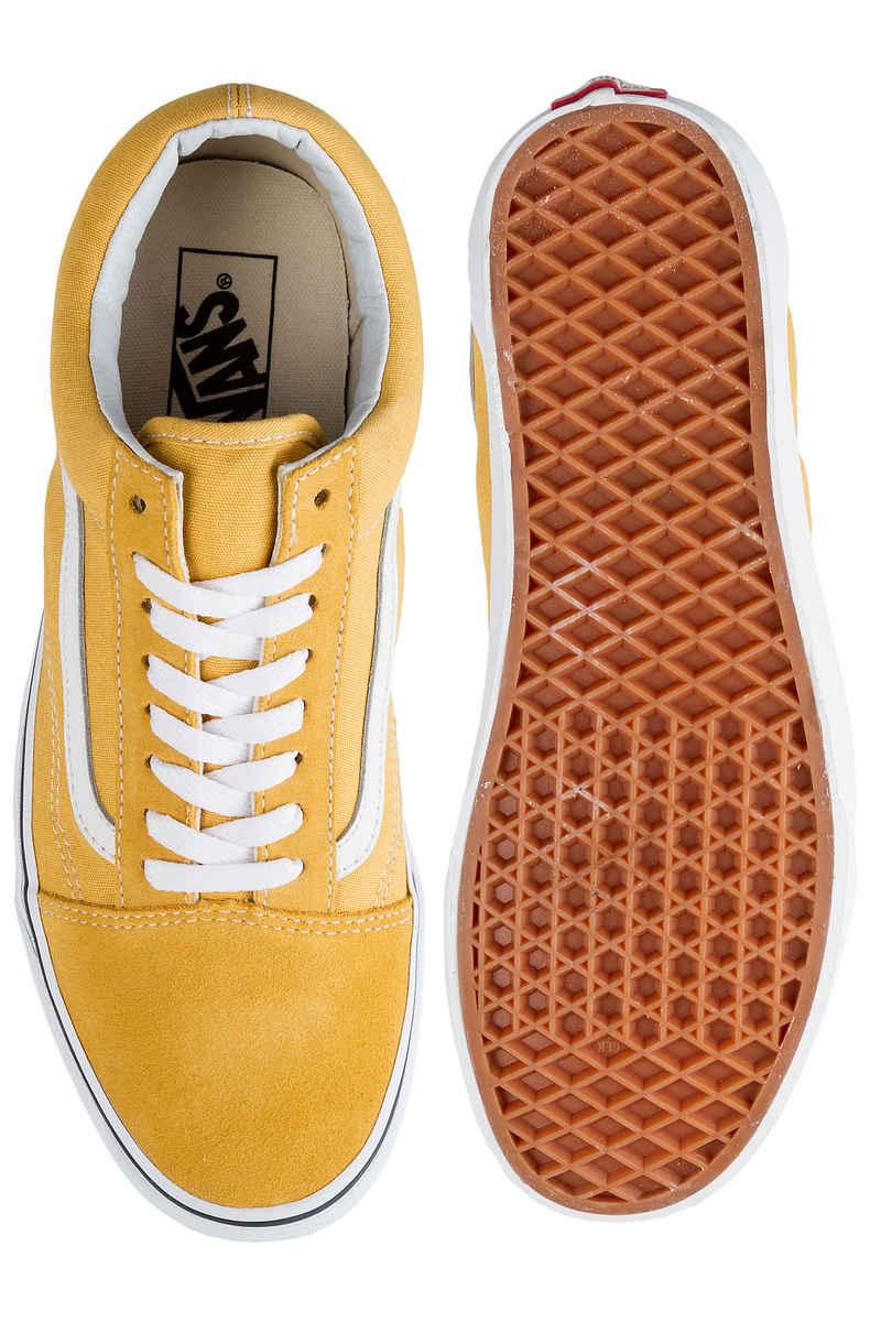 Vans Old Skool Shoes (ochre true white)