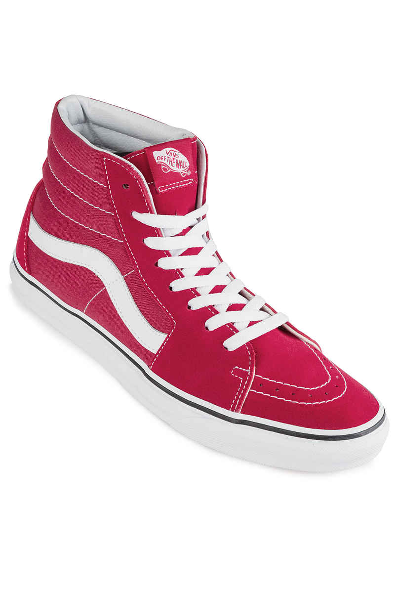 SK8-HI - Sneaker high - crimson/true white f1h1LwfGZ1