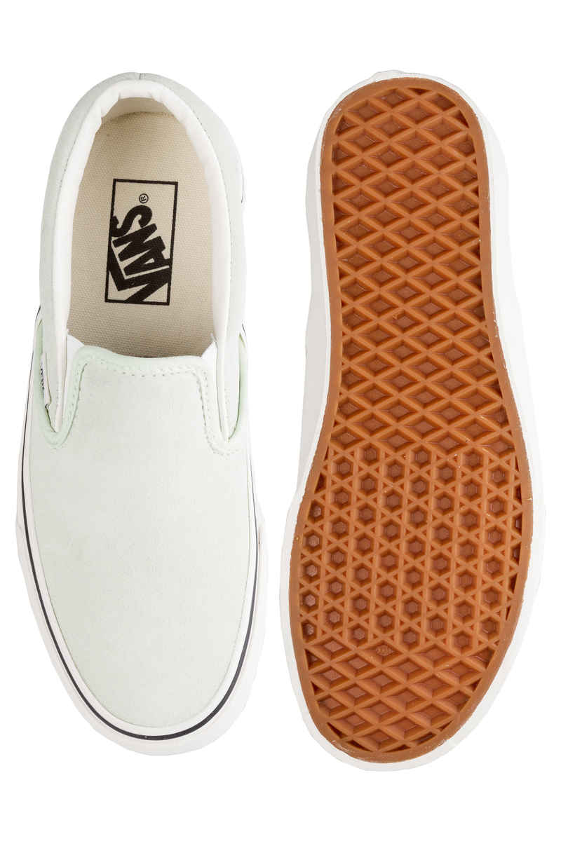 Vans Classic Slip-On Shoes women (ambre green)