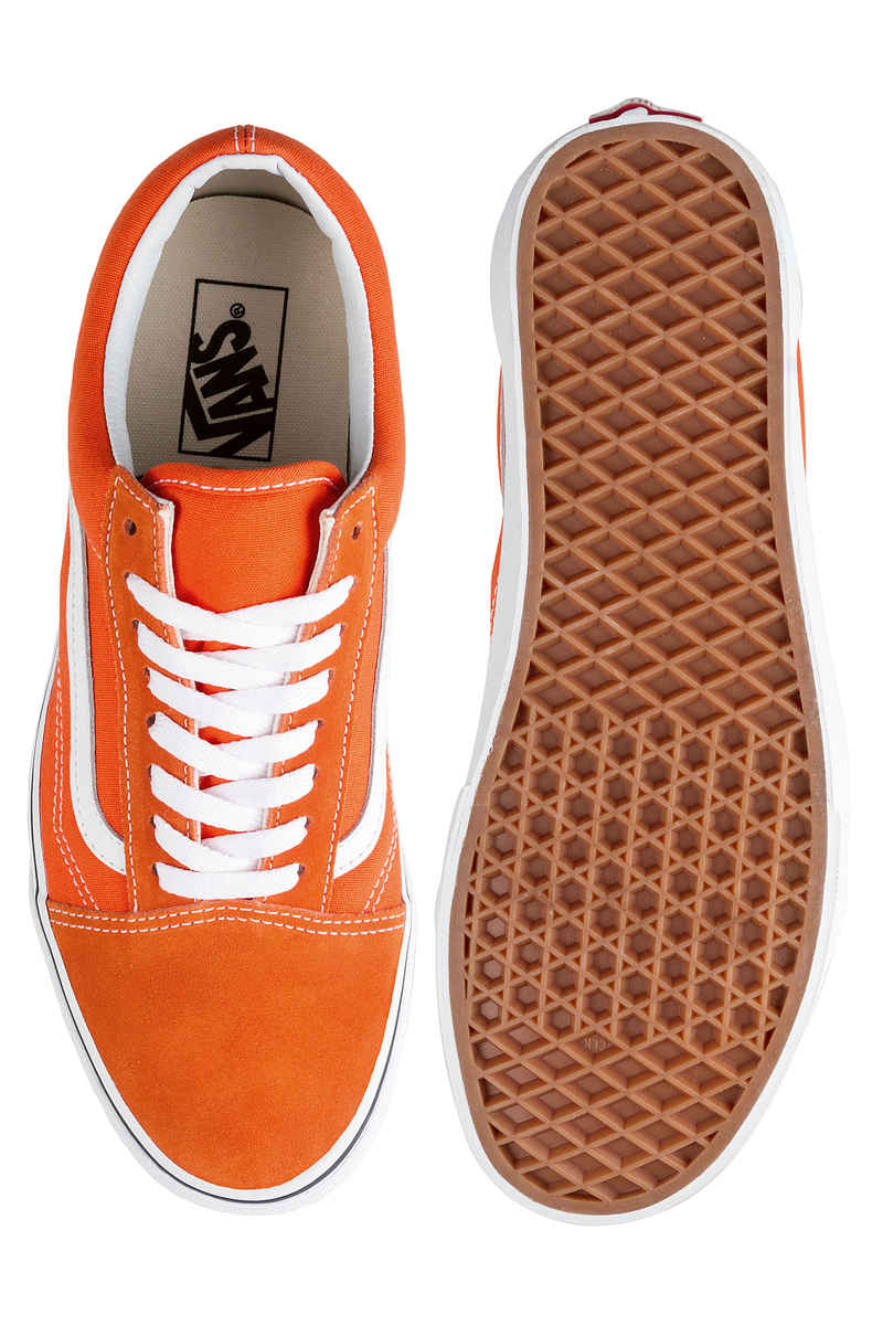 Vans Old Skool Shoes (flame true white)